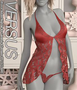 VERSUS- dForce Adore Nightie for Genesis 8 Females