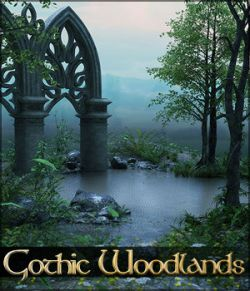 Gothic Woodlands Backgrounds