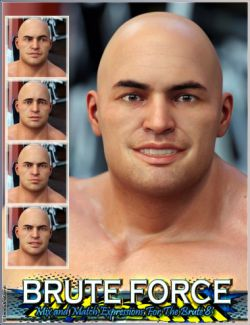 Brute Force Mix and Match Expressions for The Brute 8 And Genesis 8 Male(s)
