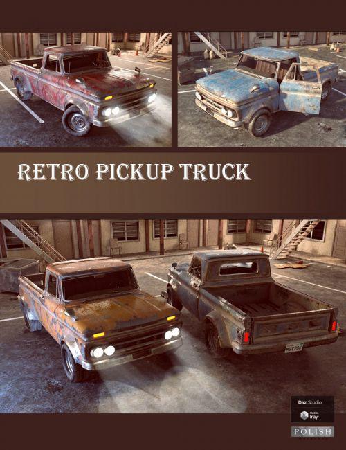 Retro Pickup Truck