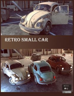 Retro Small Car