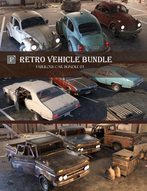 Retro Vehicle Bundle