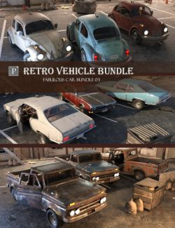 Retro Vehicle Bundle