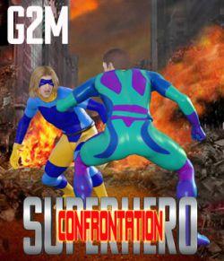 SuperHero Confrontation for G2M Volume 1