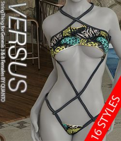 VERSUS - StringThing for Genesis 3 & 8 Females