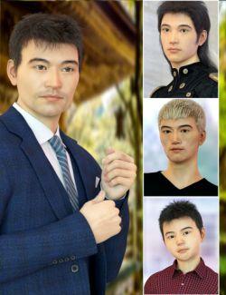 East Asian Men for Genesis 8 Male