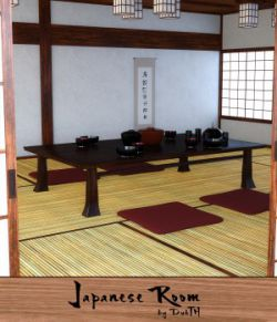 Traditional Japanese Room for Iray