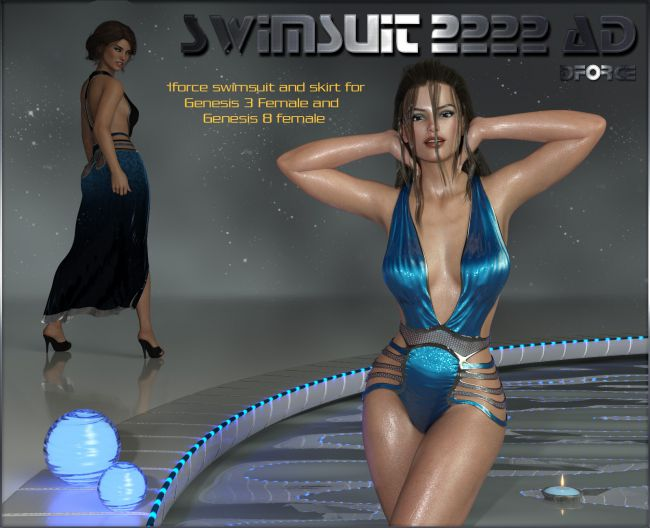 dforce Swimsuit 2222 AD