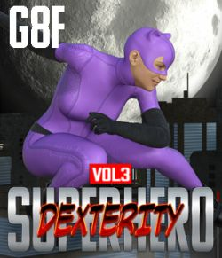 SuperHero Dexterity for G8F Volume 3