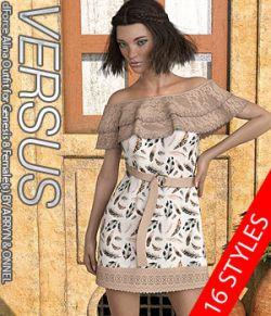 VERSUS- dForce Alina Outfit for Genesis 8 Females