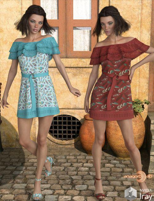 VERSUS - dForce Alina Outfit for Genesis 8 Females