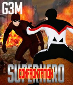 SuperHero Confrontation for G3M Volume 1