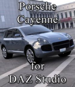 Porsche Cayenne (for DAZ Studio)