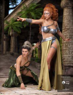 dForce Artemis Outfit Textures