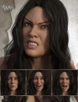 Beautiful Warrior- Expressions for Genesis 8 Female and Gia 8