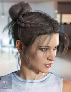 Layla Hair for Genesis 3 & 8 Female(s)