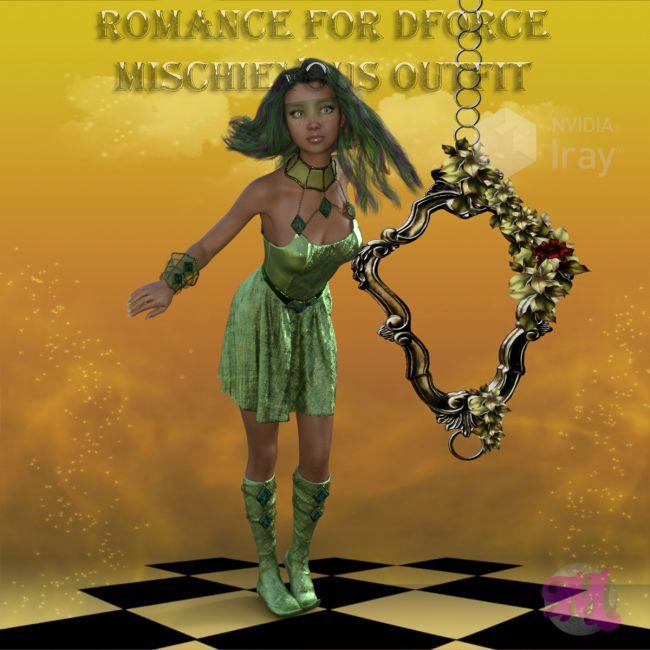 Romance for dforce Mischievous Nymph Outfit