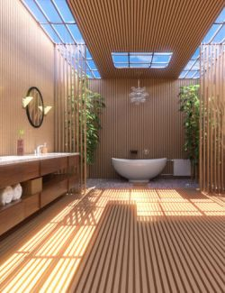 Fancy Japanese Bath