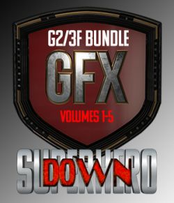 SuperHero Down Bundle for G2F and G3F