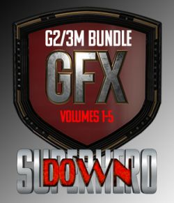 SuperHero Down Bundle for G2M and G3M