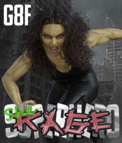 SuperHero She-Rage for G8F Volume 1