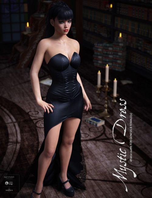 dForce Mystic Dress for Genesis 8 Females