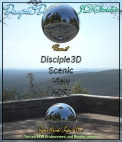 Disciple3d- Scenic View HDRI