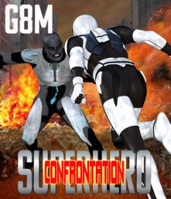 SuperHero Confrontation for G8M Volume 1
