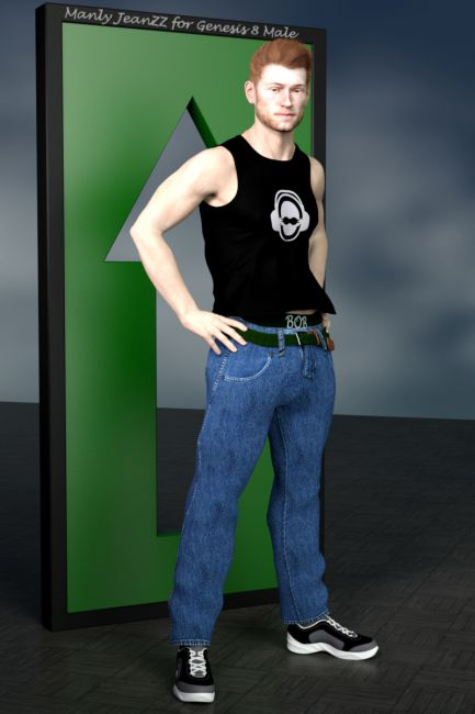 Manly JeanZZ for Genesis 8 Male