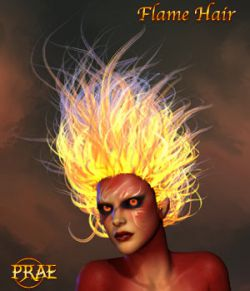 Prae-Flame Hair V4/M4 Poser