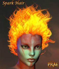 Prae-Spark Hair V4/M4 Poser