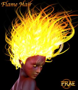 Prae-Flame Hair For G3/G8 Daz