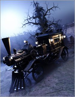 Our Permanent Address Steam-Powered Hearse