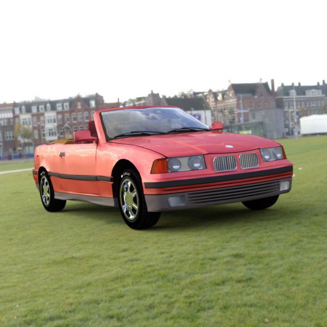 BMW 325i for DAZ Studio