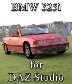 BMW 325i for DAZ Studio