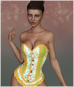 Feminine for Saffron Corset