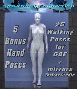25 Walking Poses for G8F