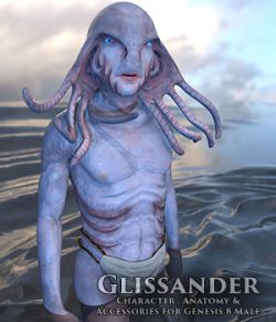 Glissander Male Glissandi Character, anatomy and clothing for Genesis 8 Male