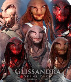 Glissandra Skins Pack