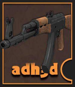 AK-74 rifle