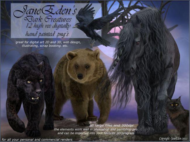JaneEden's Dark Creatures