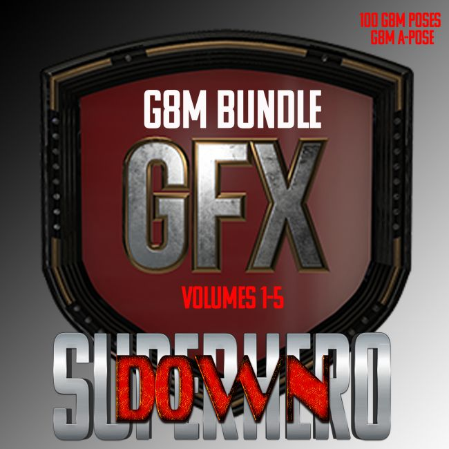 SuperHero Down Bundle for G8M