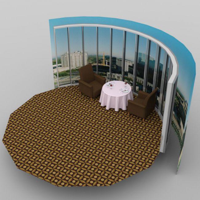 Cozy Restaurant - for DAZ Studio