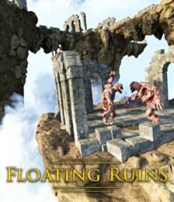 Floating Ruins for DS Iray