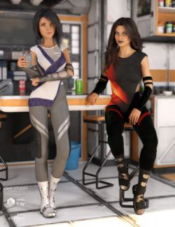 Futura Outfit for Genesis 8 Female(s)