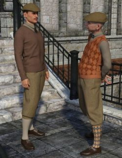 Knickerbockers for Genesis 8 Male(s)