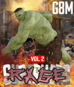 SuperHero Rage for G8M Volume 2