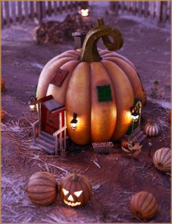 Iddy Biddy Pumpkin House
