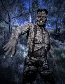 The Monster HD for Genesis 8 Male
