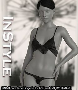 InStyle- JMR dForce Jane Lingerie for G3F and G8F